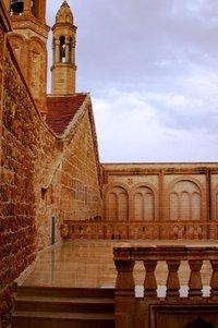 Kloster Mor Gabriel, Midyat; Foto: Harald Brandt