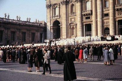 Eröffnung des Zweiten Vatikanischen Konzils; Foto: Wikipedia