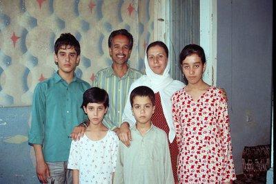 Familie Ghul Muhammad; Foto: Edda Schlager