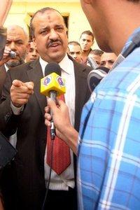 Wahlkandidat Mohamed El-Beltagy; Foto: Amir El Ahl