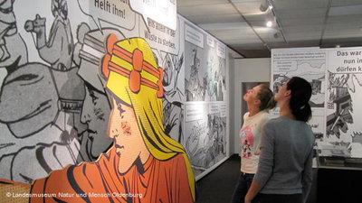 Blick in die Ausstellung; Foto: Landesmuseum Natur und Mensch Oldenburg