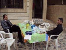 die kurdischen Brüder Nidschewan (links) und Botan; Foto: Birgit Svensson