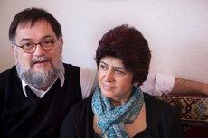 Thomas Dreesen und seine Frau Müzeyyen; Foto: Iris Wolf