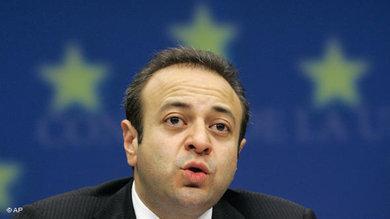 Der türkische Chefunterhändler für die Beitrittsverhandlungen mit der EU, Egemen Bağış; Foto: AP