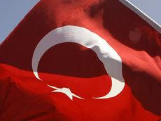 Türkei-Fahne; Foto: AP