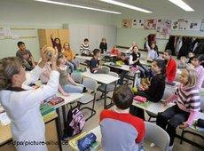 Multikulturelle Grundschule in Berlin; Foto: dpa/picture-alliance