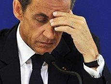 Frankreichs Präsident Nicolas Sarkozy; Foto: dpa