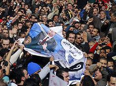 Demonstration gegen Mubarak in Kairo; foto: AP