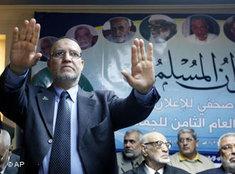 Essam el-Erian, eine der Führungspersonen innerhalb der Muslimbruderschaft in Ägypten; Foto: AP