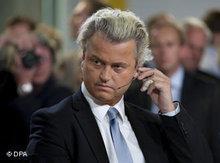 Geert Wilders; Foto: dpa