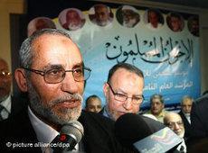 Mohammad Badie, Führer der Muslimbruderschaft; Foto: dpa