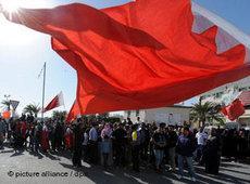 Demonstration von Regime-Gegnern in Manama; Foto: dpa
