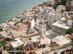 Blick auf die Altstadt von Tanger; Foto: dpa