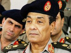 Verteidigungsminister Mohammed Tantawi; Foto: dpa