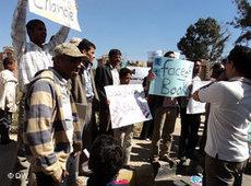 Internet-Aktivisten im Jemen; Foto: &copy DW