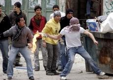 Jugendproteste in Bab el Oued, Foto: AP