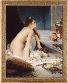 Jean Lecomte du Nouÿ - Die Weiße Sklavin (1888); Foto: RMN/Gérard Blot