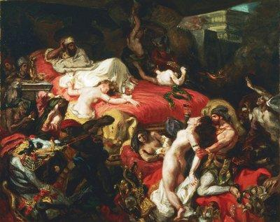 Eugène Delacroix - Der Tod des Sardanapal (1844); Foto: The Henry P. McIlhenny Collection in memory of Frances P. McIlhenny; Philadelphia Museum of Art .