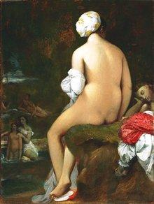 Jean-Auguste Dominique Ingres - Die kleine Badende (1826); Foto: The Phillips Collection.