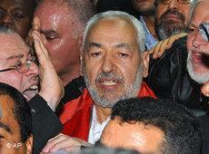 Rachid Ghannouchi; Foto: AP