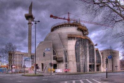 Baustelle der DITIB-Moschee in Köln-Ehrenfeld; Foto: Wikipedia.