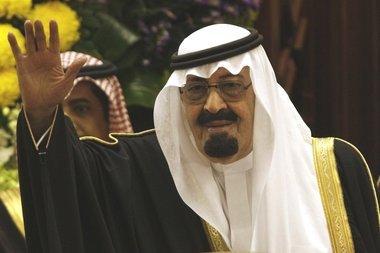 Der saudische König Abdallah; Foto: AP
