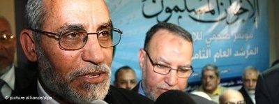 Mohammed Badie, Chef der Muslimbruderschaft; Foto: dpa