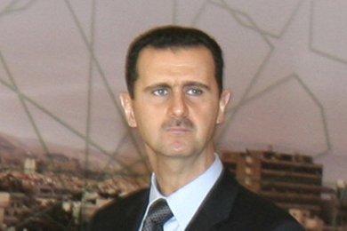 Syriens Präsident Baschar Al-Assad; Foto: AP