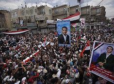 Zehntausende protestieren gegen Jemens Präsident Saleh in Sanaa; Foto: dapd