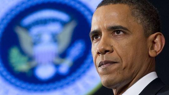 US-Präsident Obama in Washington, wo er seine Rede zum Libyen-Einsatz gehalten hat