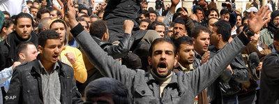 Anti-Regierungs-Proteste in Damaskus am 25. März vor der Umayyaden-Moschee; Foto: Muzaffar Salman/AP