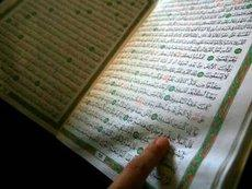 Der Koran; Foto: dpa