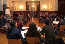 Diskussion im Debattierclub in Alexandria; Foto: Goethe Institut