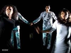Szene eines Bühnenstücks des Freedom Theatres; Foto: DW