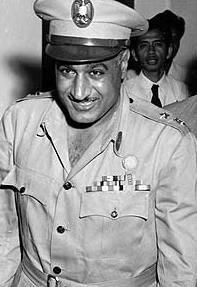 Ägyptens Präsident Gamal Abdel Nasser; Foto: AP