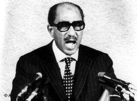Anwar Sadat (photo: AP)