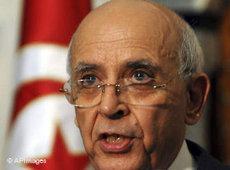 Übergangsregierungschef Mohammed Ghannouchi; Foto: AP