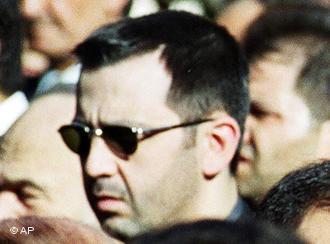 Maher al-Assad (rechts) und Assef al-Schaukat (links); Foto: AP