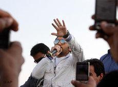 Musiker und Schauspieler Tamer Hosny; Foto: AP