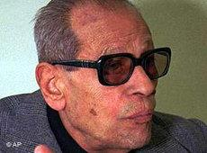 Der ägyptische Romancier Nagib Machfus; Foto: AP