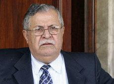 Jalal Talabani; Foto: AP