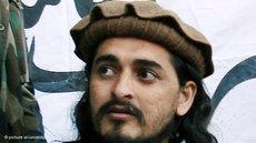 Der Anführer der pakistanischen Taliban Hakimullah Mehsud; Foto: dpa