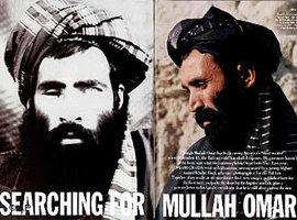Mullah Omar auf dem Titel des US-Magazins 'Vanity Fair' im Februar 2003; Foto: AP