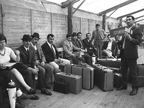 Türkische Gastarbeiter in Deutschland; Foto: dpa