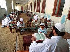 Koranschule (madrasa) in Pakistan; Foto: AP