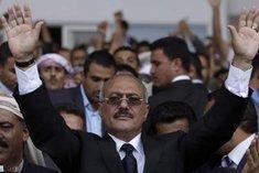 Jemens Präsident Ali Abdullah Salih; Foto: AP