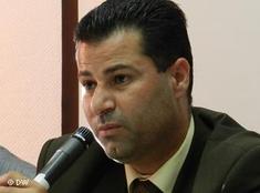 Abdallah Abu Rahme, Koordinator des Bürgerkomitees von Bil'in; Foto: DW