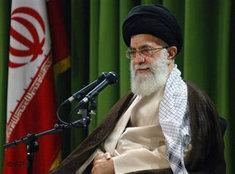 Der geistige Führer Irans, Ali Chamenei; Foto: AP