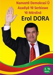 Wahlplakat Erol Dora; Foto: privat