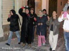 Tunesische Frauen protestieren; Foto: Lina Ben Mhenni